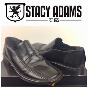 Stacy Adams Leather Loafers Size 9